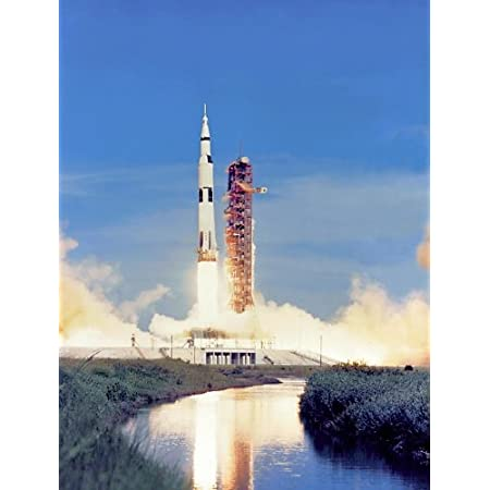 Apollo 15 Saturn V Rocket Launch Nasa Poster Photo Usa Space Historical Posters Photos 11x14 Prints Posters Prints