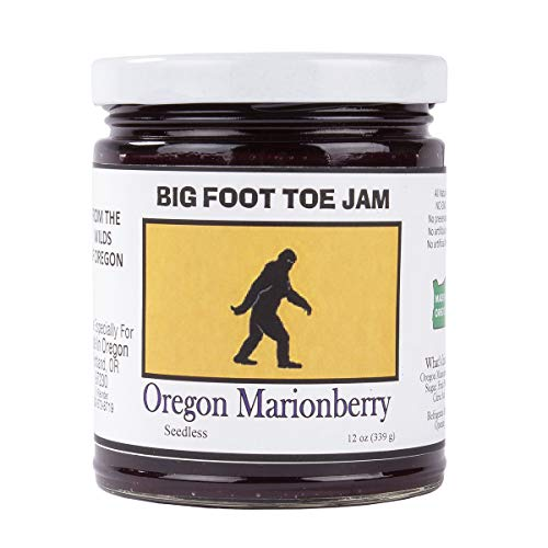 Big Foot Toe Jam Oregon Marionberry Jam 12oz