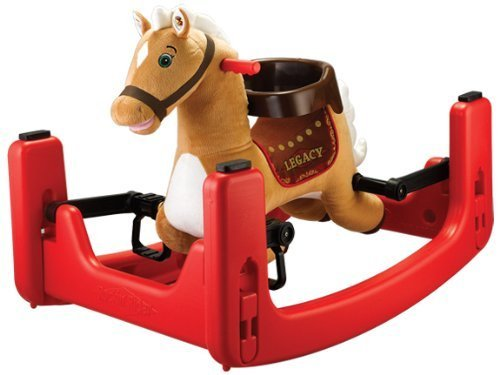 Best Deals! Tek Nek Rockin Rider Legacy Grow With Me Plush Animated Pony