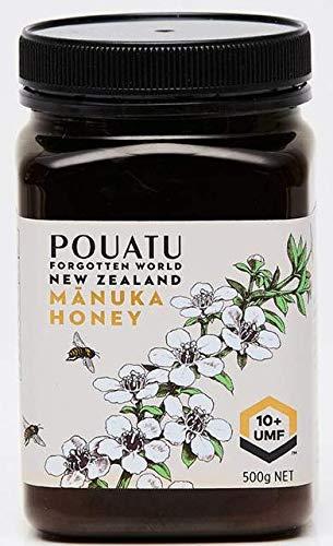 Pouatu Manuka Honing UMF 10+ (MGO > 263), rauw, echt en onbehandeld. 500g. Duurzaam gemeenschapsproduct uit de…