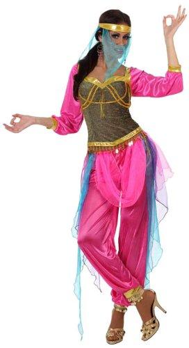 Atosa 10064 - Verkleidung Arabische Tänzerin, Größe 38-40, rosa