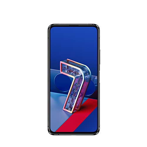 ASUS スマートフォン ZenFone 7 Pro(8GB/256GB/Qualcomm Snapdragon 865 Plus/6.67インチ ワイド ナノエッジAMOLEDディスプレイ Corning Gorilla Glass 6/Android 10/5G/オーロラブラック/クリアケース・Active Case付き)【日本正規代理店品】ZS671KS-BK256S8/A