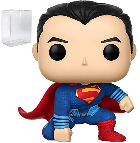 Funko Pop! Movies: DC Justice League – Superman #207 Figura de vinilo (relleno con caja protectora de caja de estallido)