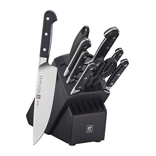 ZWILLING Pro 10-pc Knife Block Set - Black