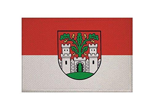U24 Aufnäher Eichstätt Fahne Flagge Aufbügler Patch 9 x 6 cm