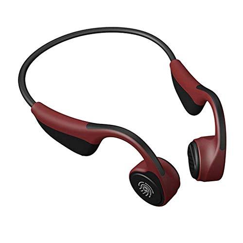 Neue Mini-V9 drahtloser Kopfhörer-Kopfhörer W/Integriertes Mikrofon for Sport-Geschenk - Pink FEOPW (Color : Red)