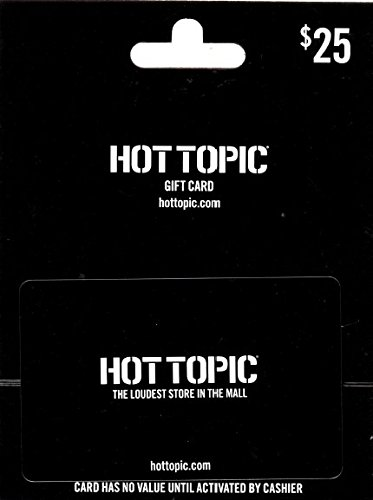 Hot Topic $25 Gift Card