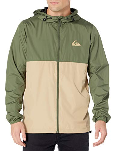 Quiksilver Herren EVERYDAY JACKET Jacke, Thymian, Medium