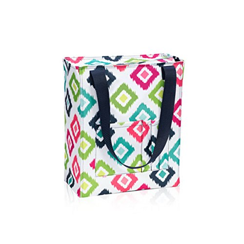 Thirty One Tall Organizing Tote in Candy Corners - 8275 - No Monogram