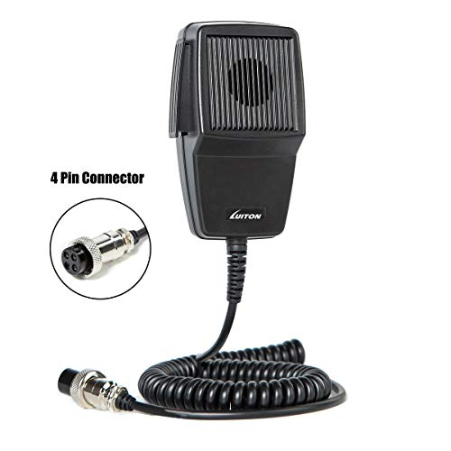 Cheapest Prices! Cb Microphone Speaker Noise Cancelling 4-Pin Mic Speaker Compatiable with 29NW Cb R...