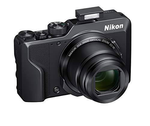 Nikon Coolpix A1000 - Cámara Digital compacta, 16 megapíxeles, Zoom 35X, 4K, Visor electrónico Incorporado, Raw (NRW), Bluetooth, Wi-Fi, Color Negro
