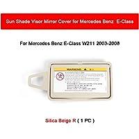 MMBO. カーインテリアサンシェードバイオメイクメルセデスベンツEクラスW211オートアクセサリー2003-2008 2118100310 (Color : Silica R)