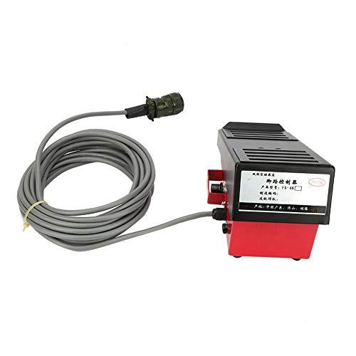 Fußschalter-Schweißgerät Magnetische Induktion 7,2 m Kabel 14-Loch Aviation Plug Adapter für Miller WIG-Schweißgerät