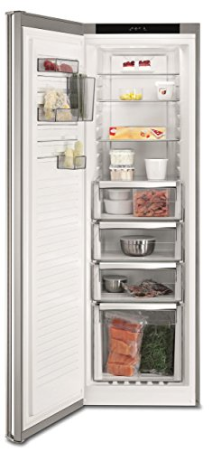 AEG AGE72924NX Freistehender-Gefrierschrank / 1850 mm / 241 L / NoFrost / Maxi-Box-Gefrierschublade / Temperaturalarm / A++