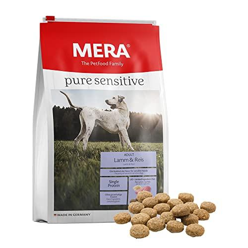MERA Pure Sensitive Adult Lamm und Reis Hundefutter – Trockenfutter für die tägliche Ernährung