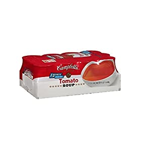 Campbell's CondensedHealthy Request Tomato Soup, 10.75 oz. Can (Pack of 12)