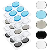 30 Pieces Drum Gel drum Dampeners Pads Silicone Drum Silencers Dampening moon gels drums Non-toxic Soft Drum Dampeners for Drums cymbals Tone Control