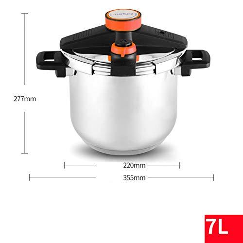 KIODS snelkookpan snelkookpan 304 roestvrij staal soep pan Ragout huishouden gasfornuis inductie keuken koken