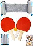 Van Allen Set Ping Pong - Rojo