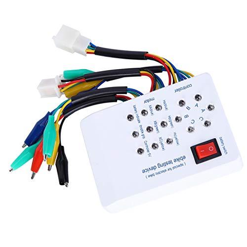 fasient1 Brushless Motor Tester,9V Battery Powered Brushless Electric Car Motor Tester Scooter Detector Self‑Check Brushless Motor Controller Tester