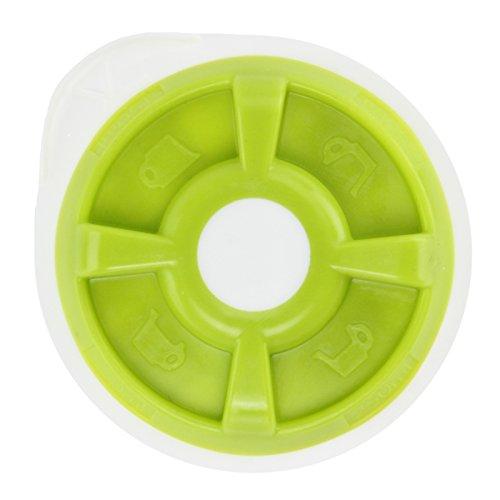 SPARES2GO Dysk T na gorącą wodę kompatybilny z Bosch Tassimo T12 T20 T32 T40 T42 T65 T85 lub VIVY ekspres do kawy (zielony)