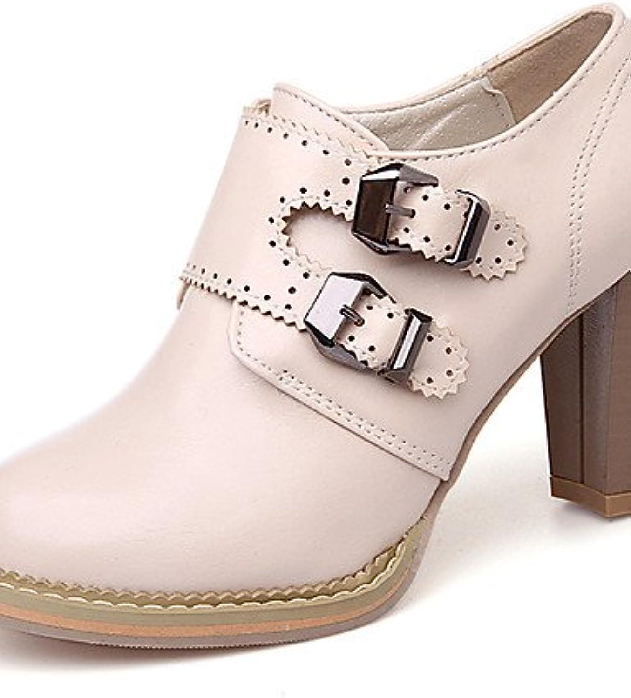 BGYHU GGX Damen Schuhe Frühling Sommer Herbst Winter Heels Heels Heels Plattform Schuhe Heels Party & Abend Kleid Chunky Absatz Schnürschuh  a338ec