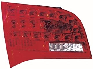 Go-Parts - OE Replacement for 2006 - 2008 Audi A6 Quattro Rear Tail Light Lamp Assembly / Lens / Cover - Left (Driver) Side Inner - (Wagon) 4F9 945 093 C AU2802103 Replacement For Audi A6 Quattro