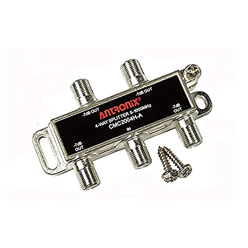Splitter, Broadband RF 4 output MoCA capable 5-1002MHZ by Antronix