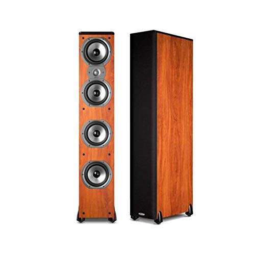 """Polk Audio TSi500 High Performance Tower Speakers with Four 6-1/2"""" Drivers - Pair (Cherry)"""