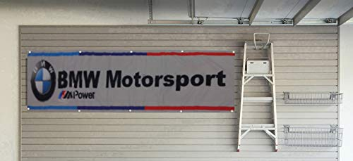 Daoops BMW Banner Flag M Power Motorsport Racing 2x8ft Banner