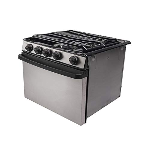 Dometic Atwood RV Range Oven Cooktop Range RV-1735 BSPSAX2 Part# 52244