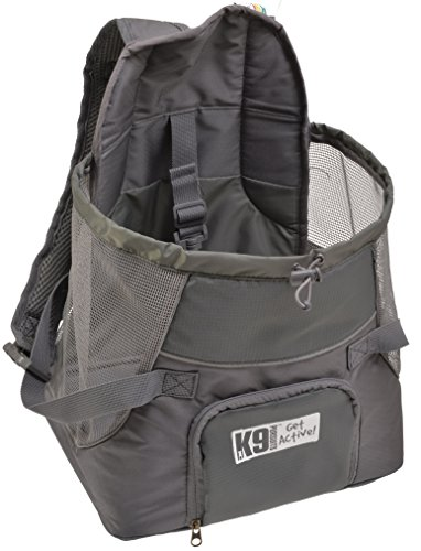 K9 Pursuits Pup-Pocket Front Mounted Dog Carrier, Small