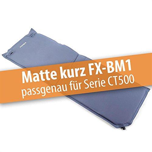 FUXTEC Bollerwagenmatte FX-BM1 aufblasbar mit Rückenpolsterung