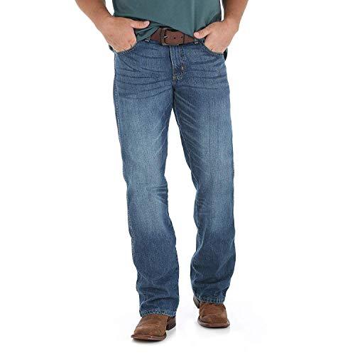 Wrangler Herren Retro Relaxed Fit Boot Cut Jeans - Blau - 35W / 36L