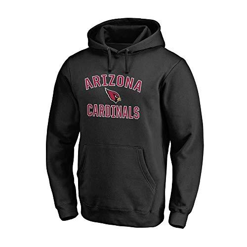 NFLSWER Team Logo Hoodie American Football Print Trui Compatibel met de Arizona Cardinals Mannen sweater Jersey