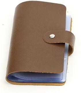 オリジナル 96ポケット(最大192枚収納可能) カードケース 名刺ケース 女性にも人気 名刺入れ カード入れ 大容量