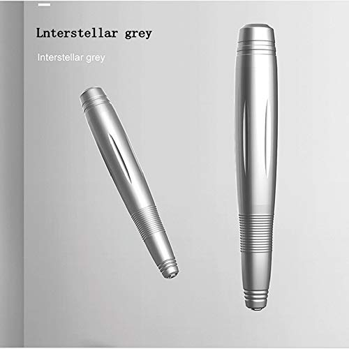Nagelboor, elektrische nagel boor set, draagbare USB manicure pedicureset Nagelvijl Grinder Nagels Polijsten Gebruik voor het verwijderen van acryl, gelnagels en thuissalon,Gray