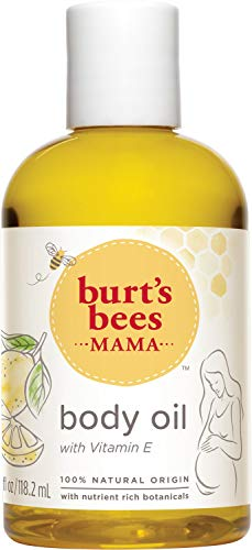 Burt's Bees Bee Nourishing Vitamin E Body Oil, 118.2 ml, Packaging May Vary