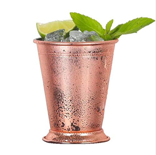 Mint Julep Cup, Edelstahl Moscow Mule Mug Vintage Cocktail Drink Cup 14oz / 400ml