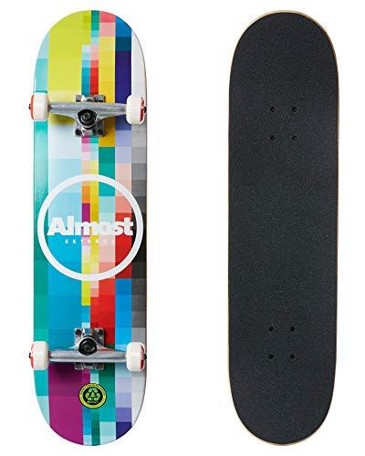 Almost Rasterized Complete Skateboard 8.25 Multi