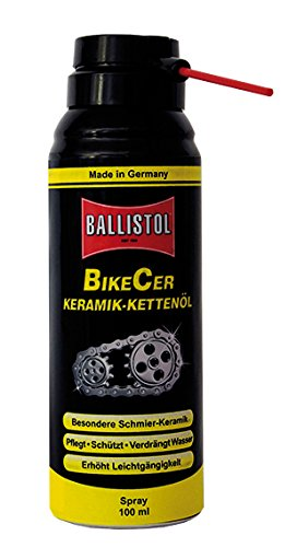Ballistol Bike Care BikeCer Spray 100 ml Aerosoldose, schwarz