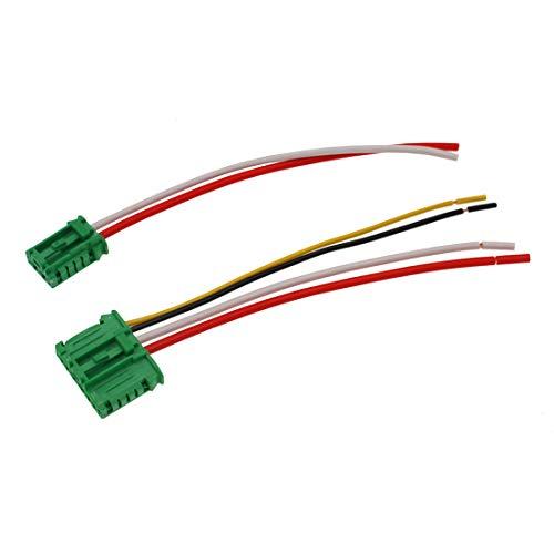 HZTWFC Cable del conector de la resistencia del soplador del calentador OEM # 7701207718 7701048390 6441L2 509355 Para Renault Citroen C2 C3 C5 - Peugeot 406 107