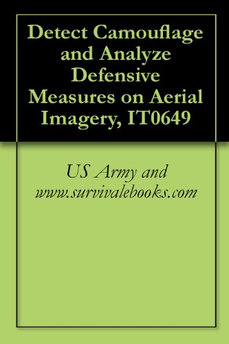 Detect Camouflage and Analyze Defensive Measures on Aerial Imagery, IT0649 (English Edition)