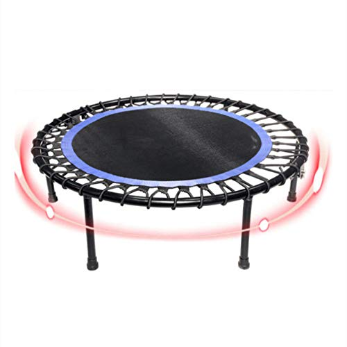 Trampoline 40 inch voor kinderen, Mini-trampoline Fitness-trampoline met veiligheidspad, Jumping Cardio Trainer Workout voor kinderen Volwassene