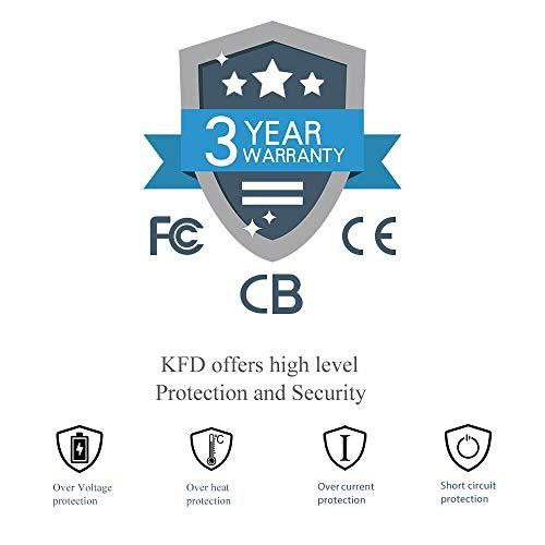 KFD AC Adapter for Epson Perfection 3490 3590 4180 4490 V500 V600 V700 3170 J221 J252 J252A B11B178011 V750 V550 640U 1240U 1650 2480 2580 P60 TM-P80 Workforce DS-510 GT-S50 A291B A171E Power Supply
