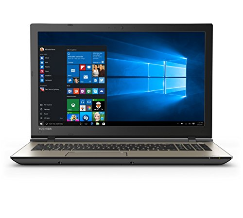 Toshiba Satellite S55-C5138 15.6' (1920x1080) Full HD Laptop: Core i7-6500U 2.5GHz 1TB 8GB DVD-RW 4K HDMI Output - Windows 10 64bit (Brushed Metal)