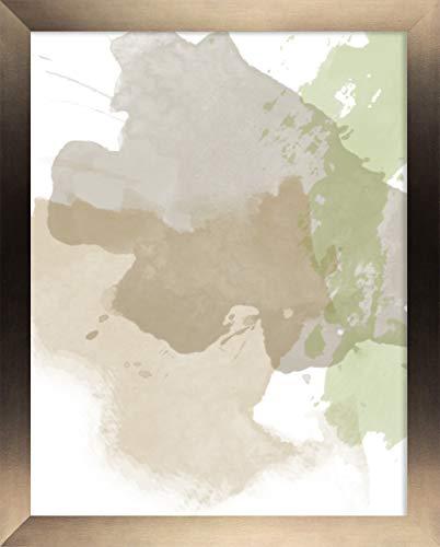 Misano rand fotolijst 15,7x23,6 Inch (40 x 60 cm) met Antireflectief Kunststof Glas Perspex 23,6x15,7 Inch Fotolijst Kleur Brons Decor