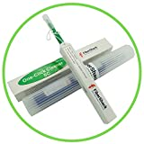 FiberShack - Fiber Optic Cleaner Pen - Site Proven SC Fiber Cleaner - 800+ Use One Click F...