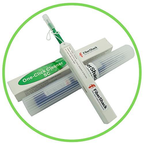 FiberShack - Fiber Optic Cleaner Pen - Site Proven SC Fiber Cleaner -...