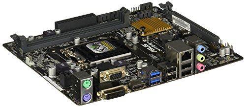 ASUS H110M-R/C/SI Intel® H110 LGA 1151 (Lage H4) Micro ATX – Hauptplatine (DDR4-SDRAM, DIMM, 2133 MHz, Dual, 32 GB, Intel)